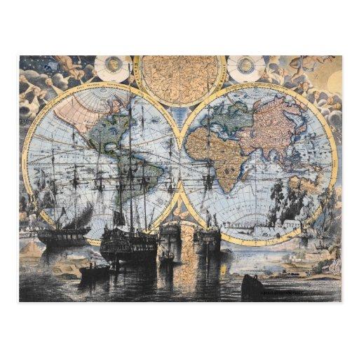 Carte de Vieux Monde - à la mer Cartes Postales