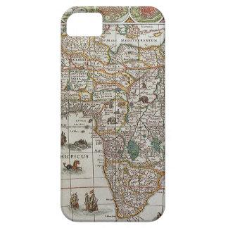 Carte de Vieux Monde antique de l'Afrique, C. 1635 Coque iPhone 5