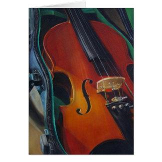 Carte de violon