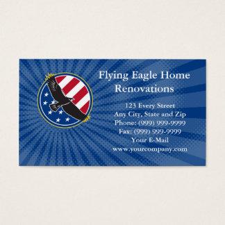 Carte de visite à la maison de rénovations d'Eagle