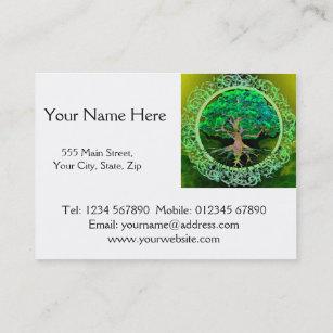 Carte De Visite Arbre Sant Et Prosprit La Vie