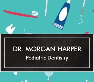 Carte De Visite Art Dentaire Pediatrique Du Motif