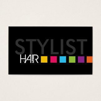 Carte de visite audacieux de coiffeur