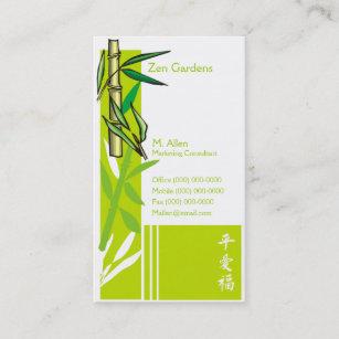 Carte De Visite Bambou