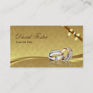 Carte De Visite Bijoux Bijoutier Dor Diamant