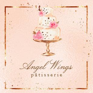 Carte De Visite Carr Beaux Patisserie Boulangerie Gteaux Et Bonbons