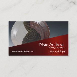 Carte De Visite Ceramique Du Concepteur I Poterie