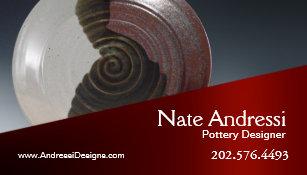 Carte De Visite Cramique Du Concepteur I Poterie