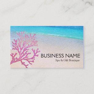 Carte De Visite CHAMBRE DHTE Corail Rose Boutique