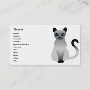 Carte De Visite Chat