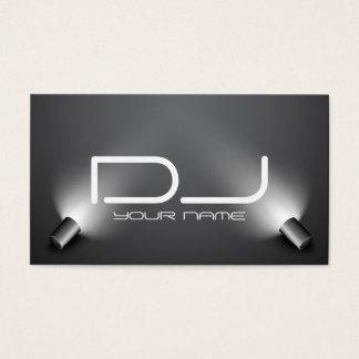 Carte de visite chic du DJ
