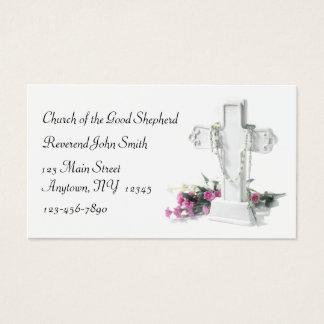 Carte de visite chrétien