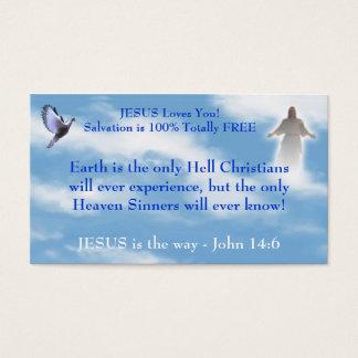 Carte de visite chrétien de témoin