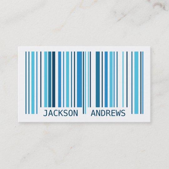 Carte De Visite Code Barres