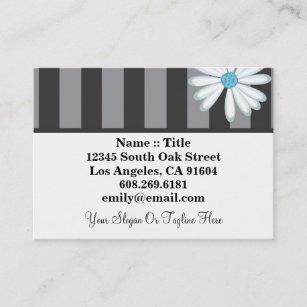Carte De Visite Concepteur Floral Boutique Haute Couture