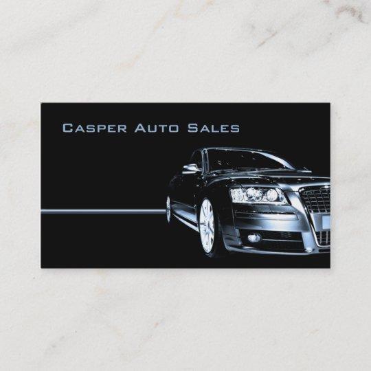 Carte De Visite Concessionnaire Automobile Utilise