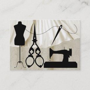 Carte De Visite Couture Mode Ouvriere Couturiere