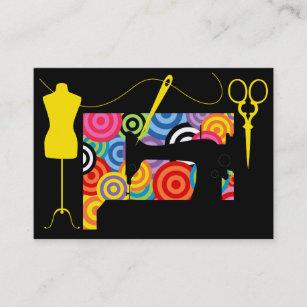 Carte De Visite Couture Ouvrire Couturire Mode