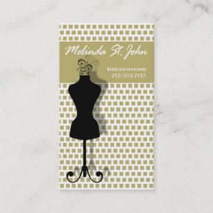 Carte De Visite Couturier Couture Mannequin Couturiere
