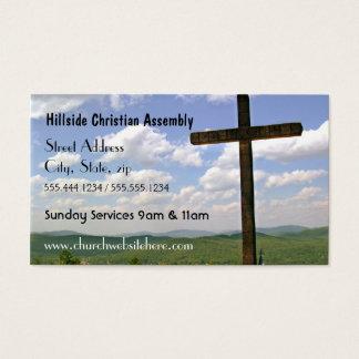 Carte de visite croisé d'église