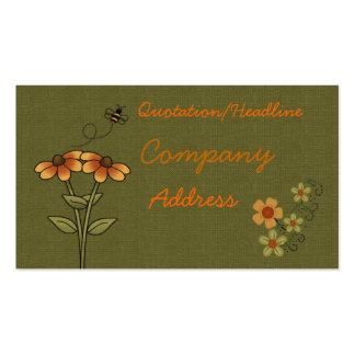 carte de visite d abeille