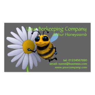 Carte de visite d abeille d apiculteur