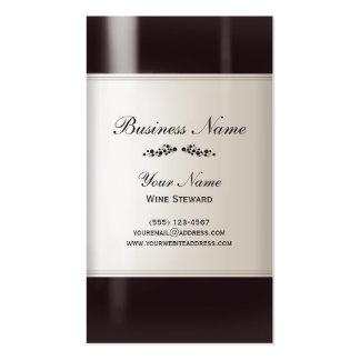 Carte de visite d administrateur de vin