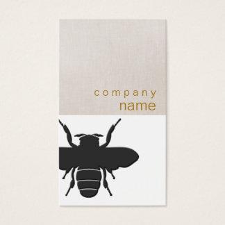Carte de visite d'abeille