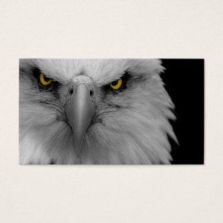 carte de visite d'aigle chauve