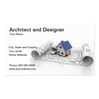 Carte de visite d'architecte et de concepteur