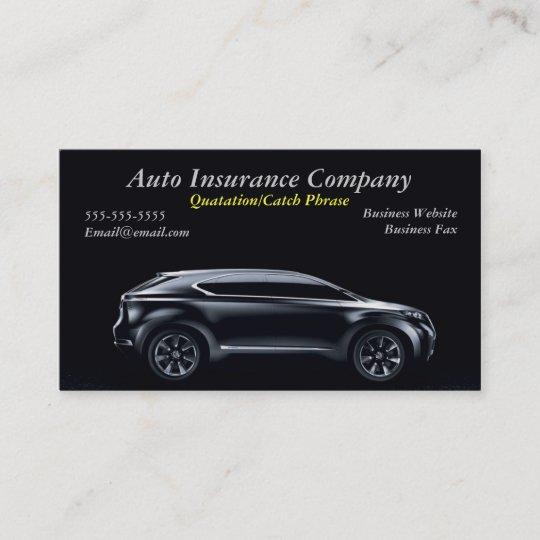 Carte De Visite Dassurance Automobile