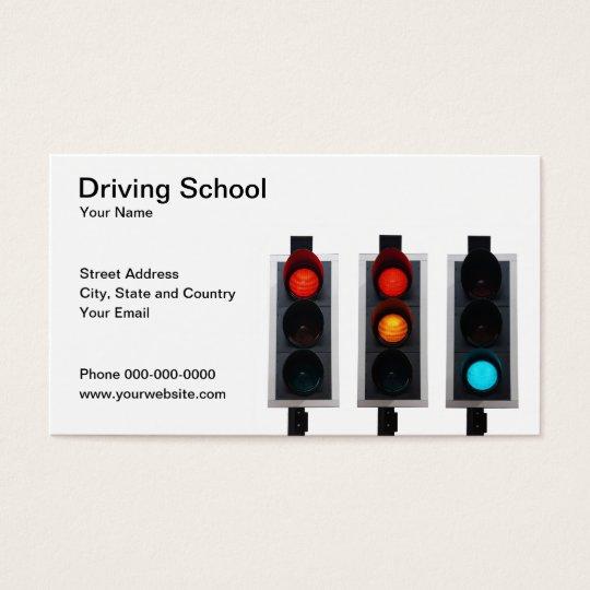 Carte De Visite D Auto Ecole Zazzle Fr