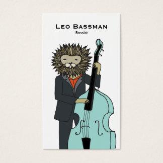 Carte de visite de bassiste