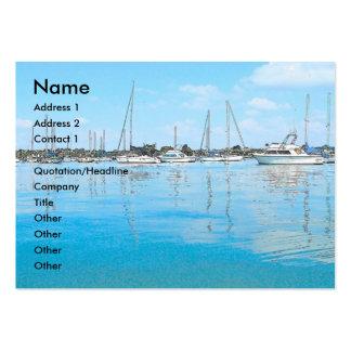 Carte de visite de bateaux