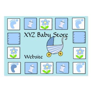 Carte de visite de bébé