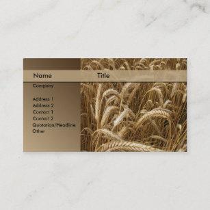 Carte De Visite Boulangerie Brasserie