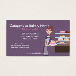 Carte de visite de boulangerie/magasin de