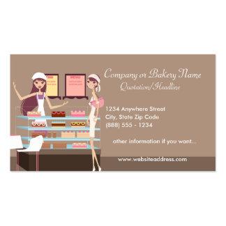 Carte de visite de boulangerie/magasin de pâtisser