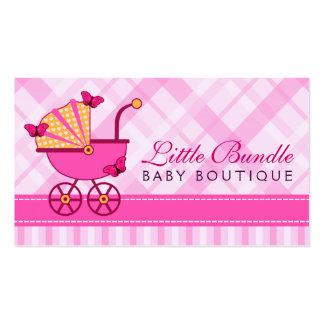 Carte de visite de boutique de bébé de magasin de