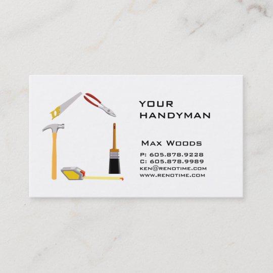 Carte De Visite Bricoleur Dentrepreneur
