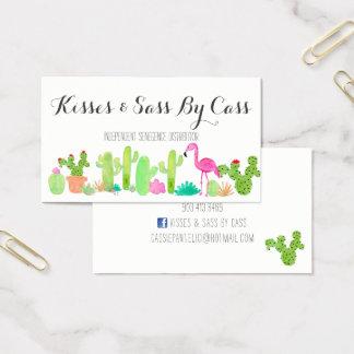 Carte de visite de cactus