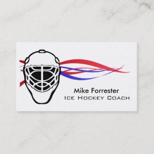 Carte De Visite Car Hockey Sur Glace