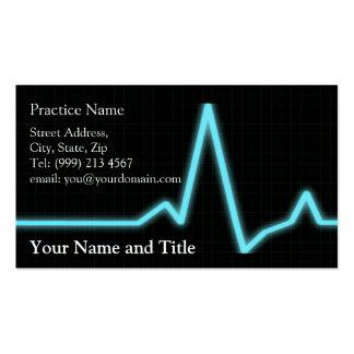 carte de visite de cardiologie
