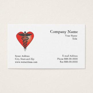 Carte de visite de cardiologue