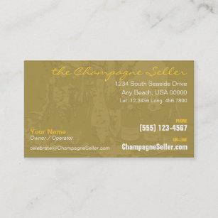 Carte De Visite Champagne