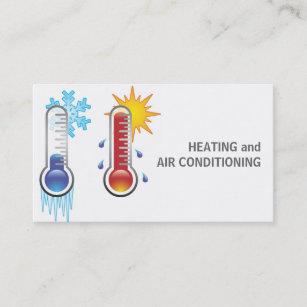 Carte De Visite Chauffage Et Climatisation