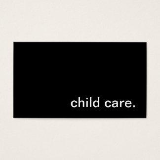 Carte de visite de Childcare