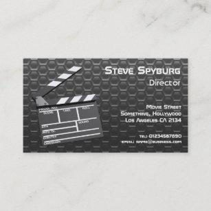 Carte De Visite Claquette Film Studio