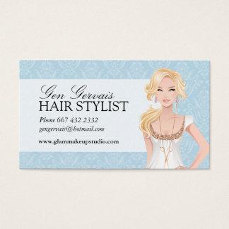 Carte de visite de coiffeur