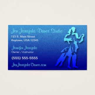 Carte de visite de danse